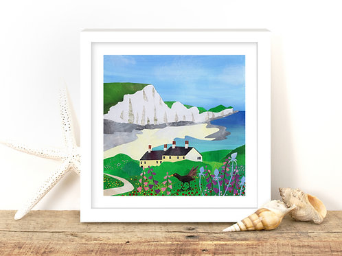 The Seven Sisters - Limited Edition Mounted Gesso Print