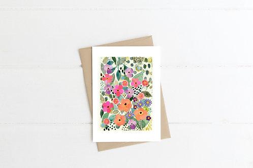 Greetings Card - Awakening