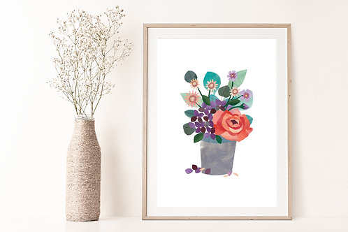 Florals I - Limited Edition Giclée Print