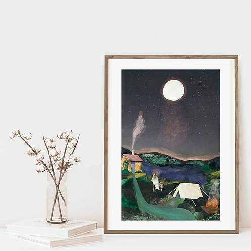 Stay Wild My Child - Limited Edition Giclée Print