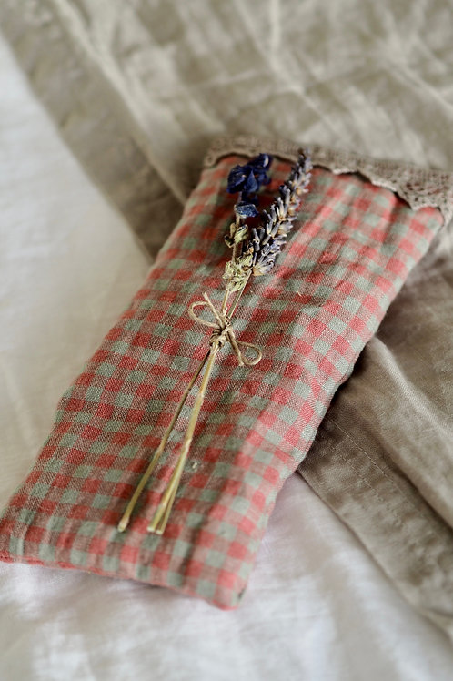 Herb Infused Linen Eye Pillow