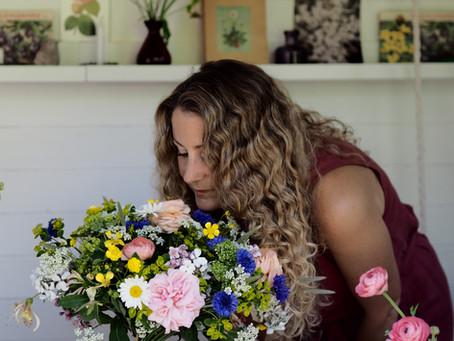 Hand Tied Bouquet Tutorial