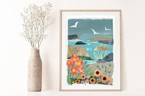 Flora & Fauna IIV - Limited Edition Giclée Print