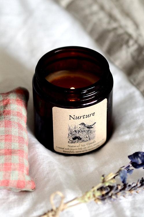 """""""Nurture"""" Seasonal Soy Candle"""