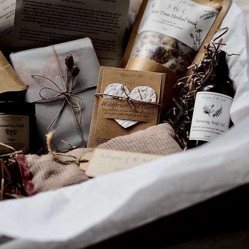 """Nature & Nurture"" Seasonal Self Care Gift Box"