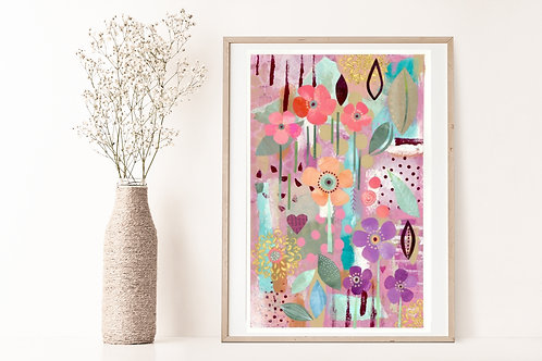 Blooming - Limited Edition Giclée Print
