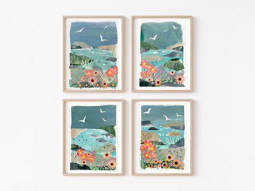 Flora & Fauna - A Collection of 4 Limited Edition Giclée Prints