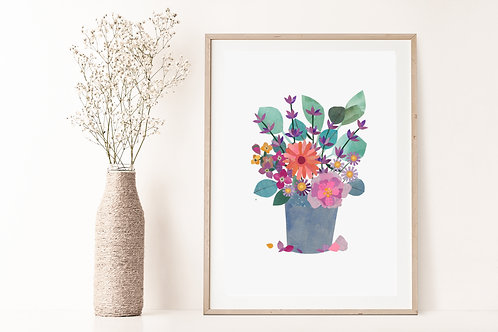 Florals II - Limited Edition Giclée Print
