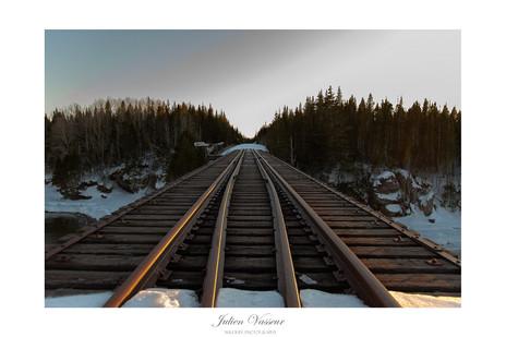 Sur la voie