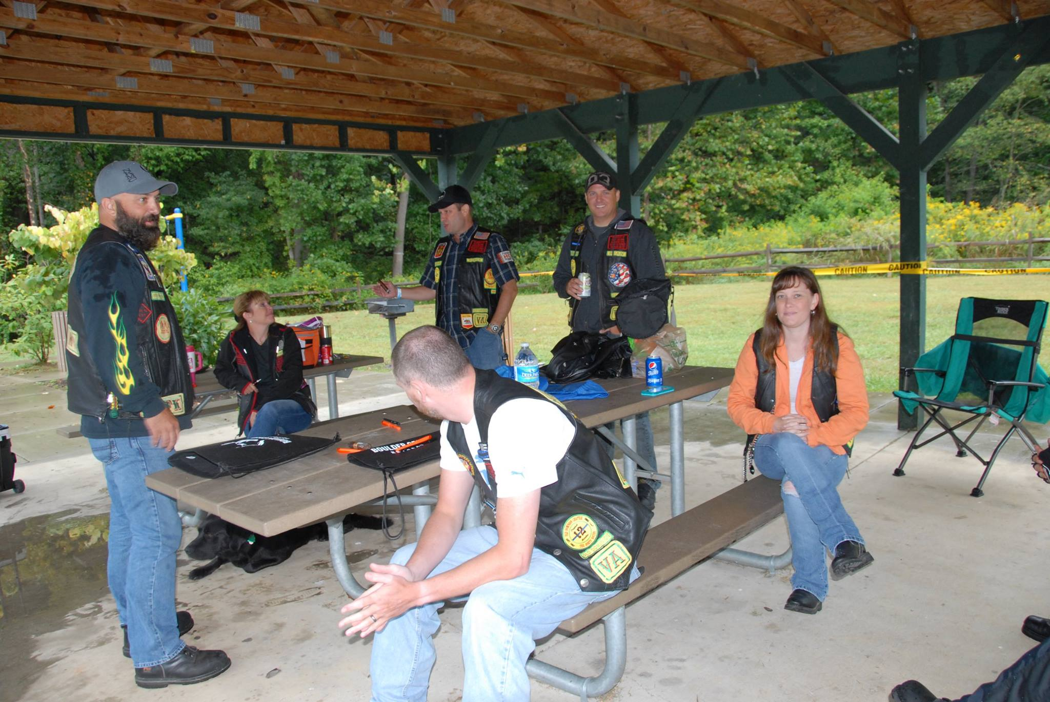 Wounded warrior poker run-Linden