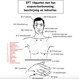 Tikpunten EFT mannen