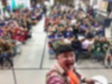 Our magician takes a selfie at a recent event