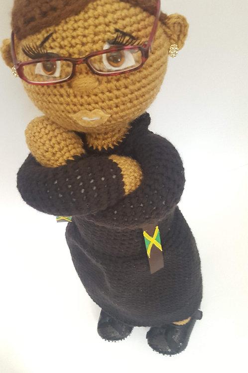 Female Custom Clergy Doll