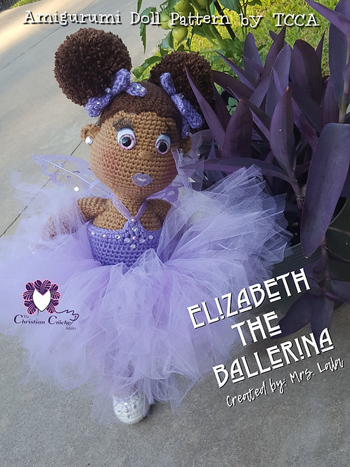 Crochet Doll Pattern; Ballerina