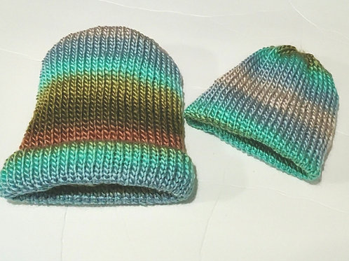 Knit Hat Set -Beach Bum