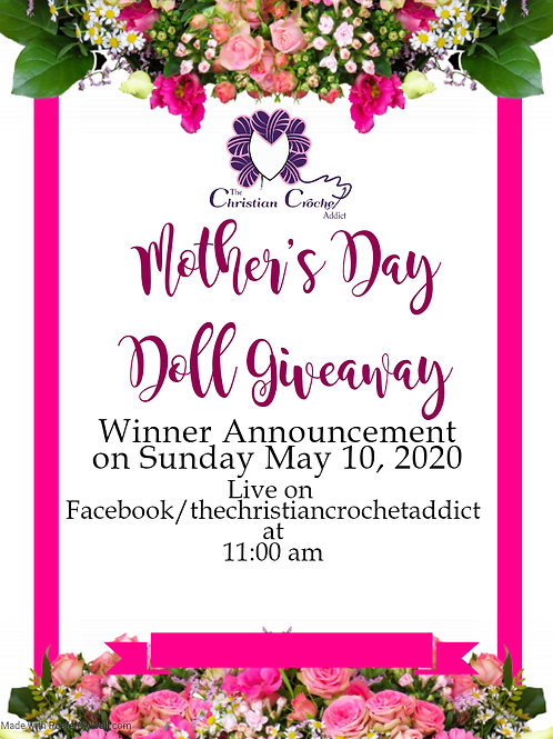 TCCA 2020 Mother's Day Doll Giveway