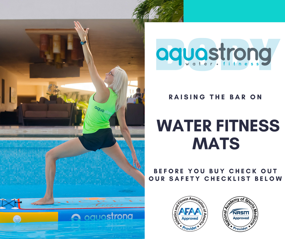 AquaBodyStrong - Raising The Bar On Water Fitness Mats