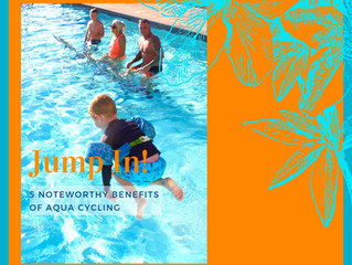 Ride & Shine 5 Noteworthy Benefits of Aqua Cycling