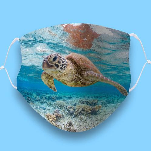 Sea Turtle Face Mask
