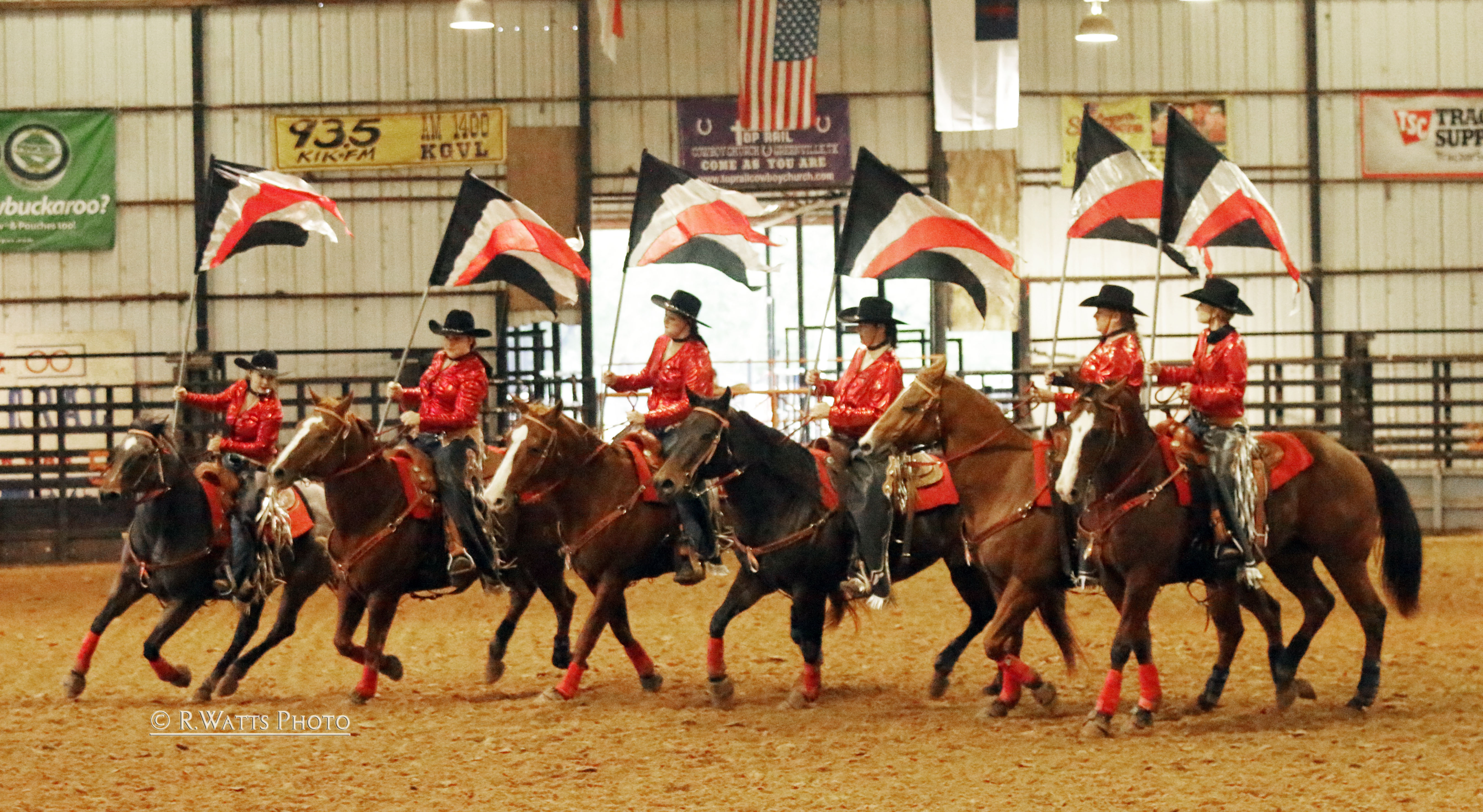 Cowgirl Congress Rodeo Drill Team