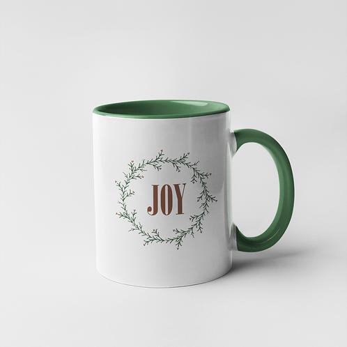 Wreath  of Joy Mug - 11 oz.
