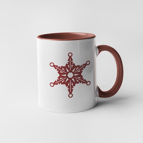 Snowflake Mug - 11 oz.