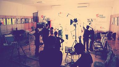 Съемка фильма-буриме «Жизнь набирает скорость» на ХVIII открытие фестиваля студенческих и дебютных фильмов «Святая Анна», 2011 год