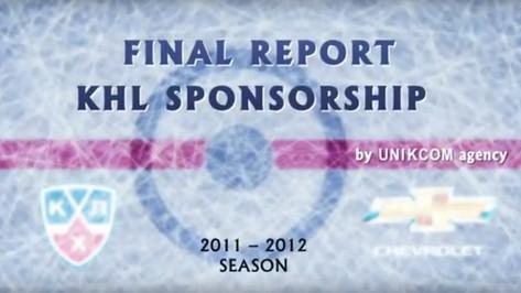 "Анимационная реклама ""Final Report KHL Sponsorship"""