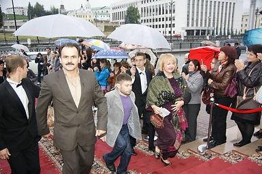 """Международный фестиваль мусульманского кино """"Золотой Минбар"""", г. Казань, 2011"""