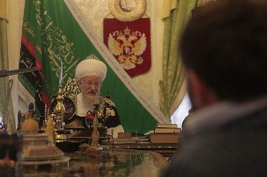 Верховный муфтий Талгат Таджуддин, Рамиль Хайрулин, Уфа, 2012 год