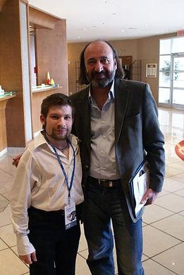 Армянский режиссёр, продюсер Арутюн Хачатрян, Рамиль Хайрулин, кинофестиваль SyrFilmFest'09, г. Сиракьюс, Нью-Йорк, США, 2009 год