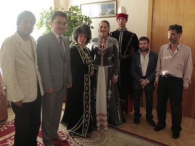 Встреча с мэром г. Уфа Республики Башкортостан Ялалов Ирек, Уфа, 2012 год