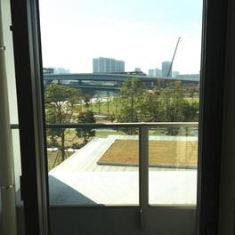 洋室からの眺望