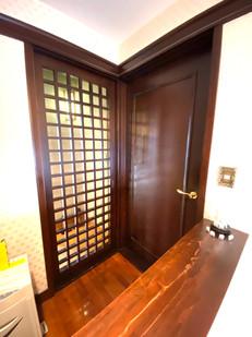 趣のあるドア