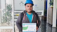 Trabajador Altimec es Destacado por Promover la Seguridad en Terreno