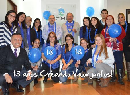 ALTIMEC CORP celebró su 13° Aniversario