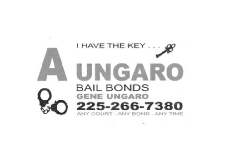 Looking for a bail bondsman, look no further. Contact my coach, Gene Ungaro at 225-266-7380