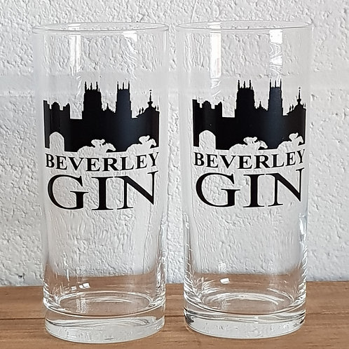 Beverley Gin Glass Tumblers