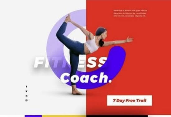 Plantilla web entrenador personal