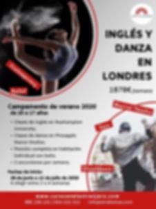 Campamento de inglés y dana en Londres OTR Idiomas