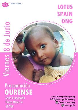 Cartel Lotus Presentación Ourense