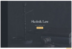 Plantilla web despacho de abogados