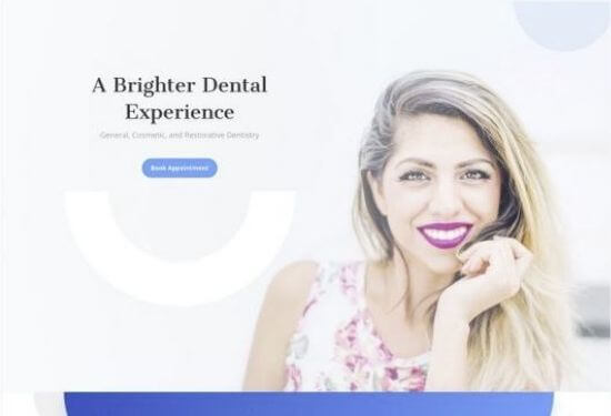 Plantilla web odontólogo dentista
