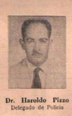 Delegado de Polícia Titular da cidade de Mirandópolis Haroldo Pizzo, tinha como Delegado Substituto Cid Gualter Alves Pereira, 1.967.