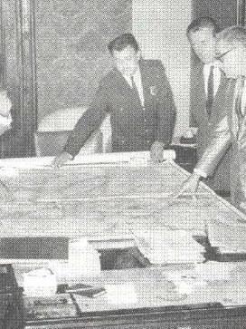 1968, incia-se a descentralização do serviço policial na capital (Polícia Civil e Guarda Civil estudando ações de policiamento, com o Delegado de Polícia Dr. Nemr Jorge)