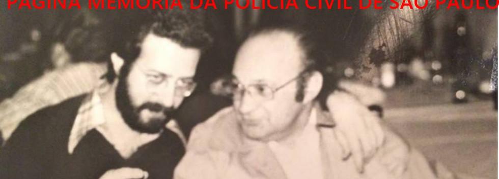 """Investigadores da DIG- DEIC, Sebastião Pareira e Jacob Magidman """"in memoriam"""" em 1978."""