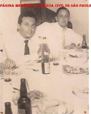 Delegacia do Município de Presidente Prudente, em 1.959. Delegado Substituto Roberto João Julião e o Titular Alcides Soares Junior.