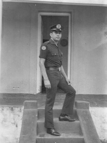 Guarda Civil no final da década de 60.