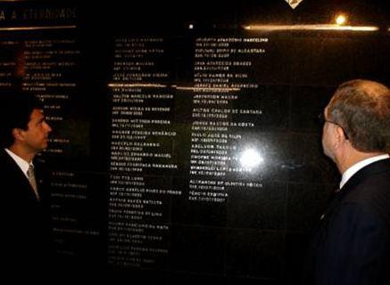 Galeria de Policiais Civis Mortos em Serviço (Academia de Polícia).