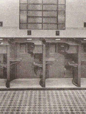 Setor de Coleta de Impressões Digitais do Serviço de Identificação da Polícia em 1945.